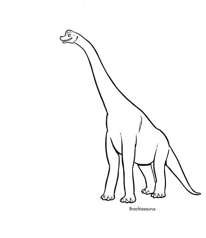 Поезд динозавров, бронтозавр