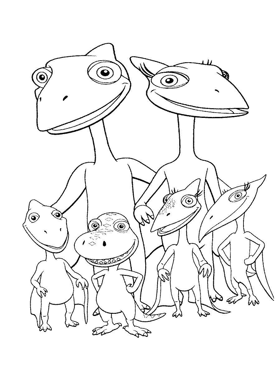 Поезд динозавров, семейство птерозавров