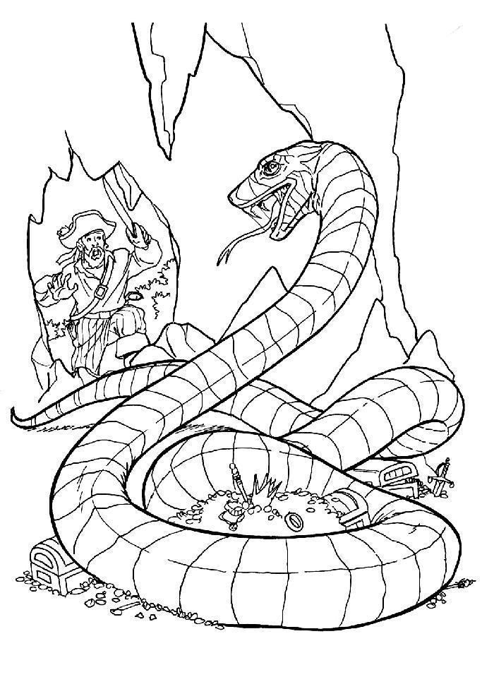 Монстр змея