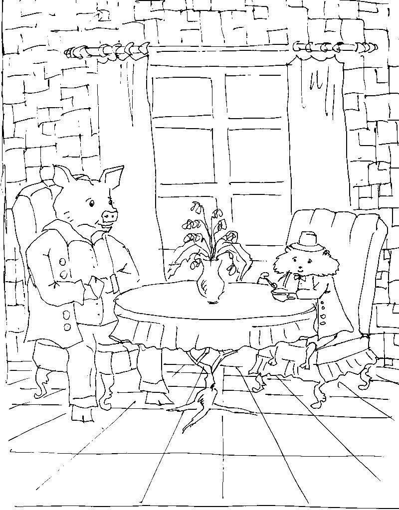 Свинка и хомячок