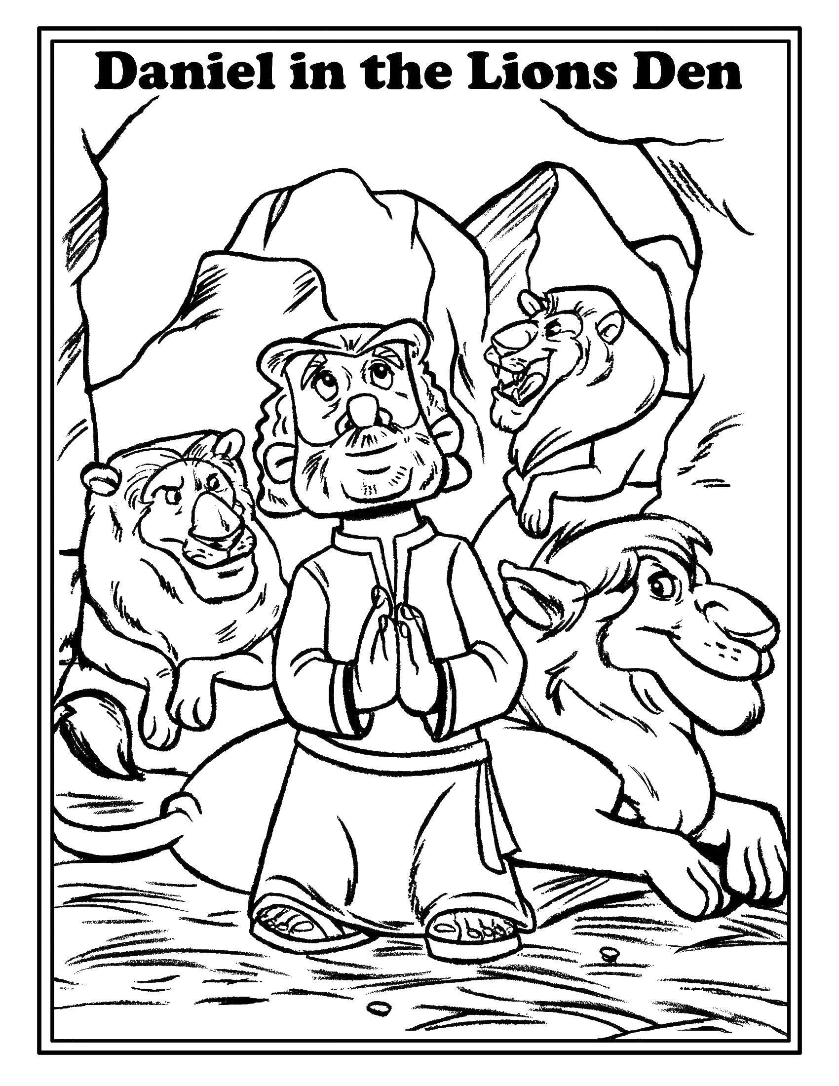Раскраски львицы и львята  Львы не едят человека