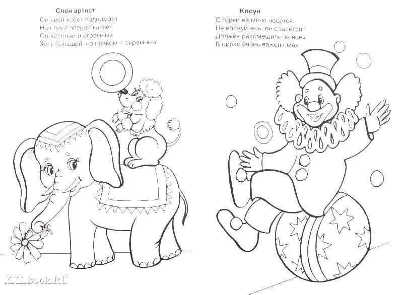 Слон, собака, клоун