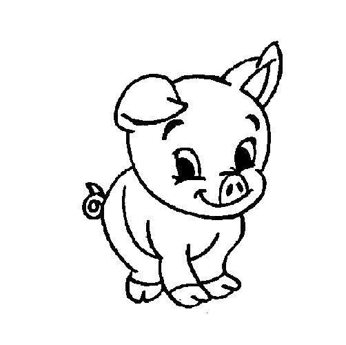 Малыш свин