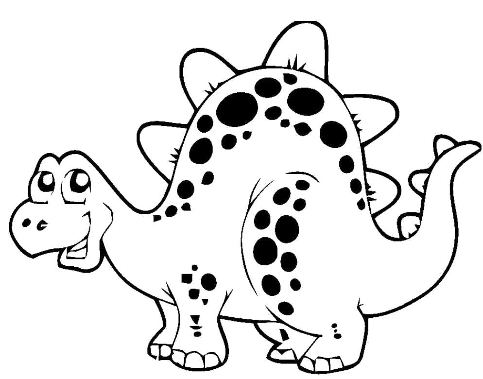 Смешной динозаврик