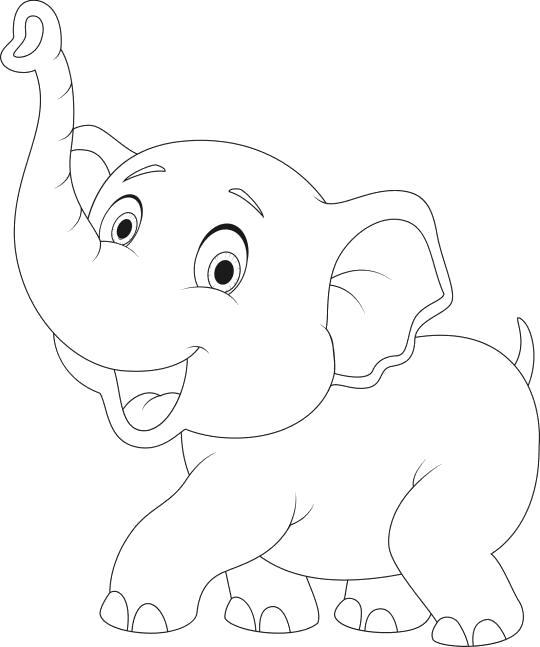 слоненок танцует