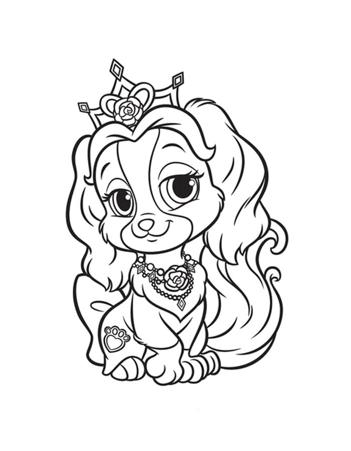 Раскраски принцесса