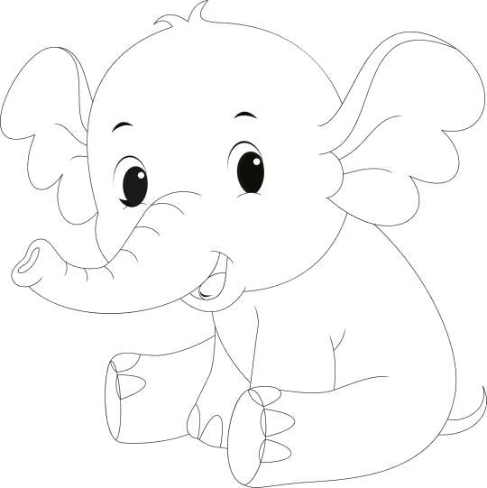 маленьких слоник смеется
