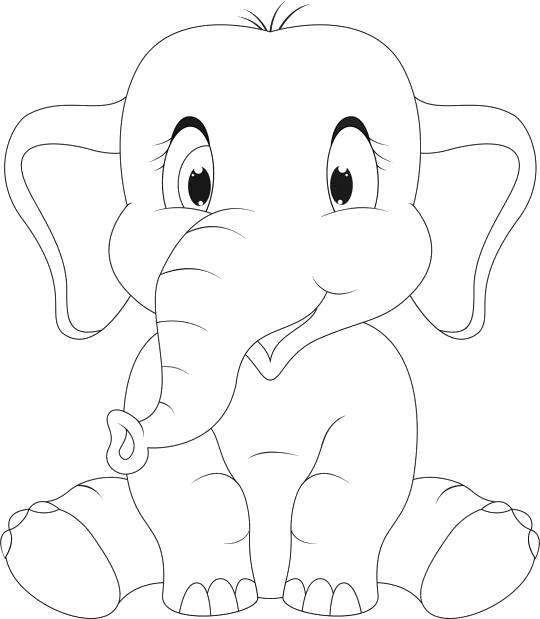 слоник сидит