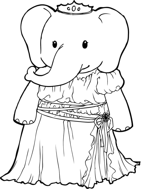 Слониха принцесса
