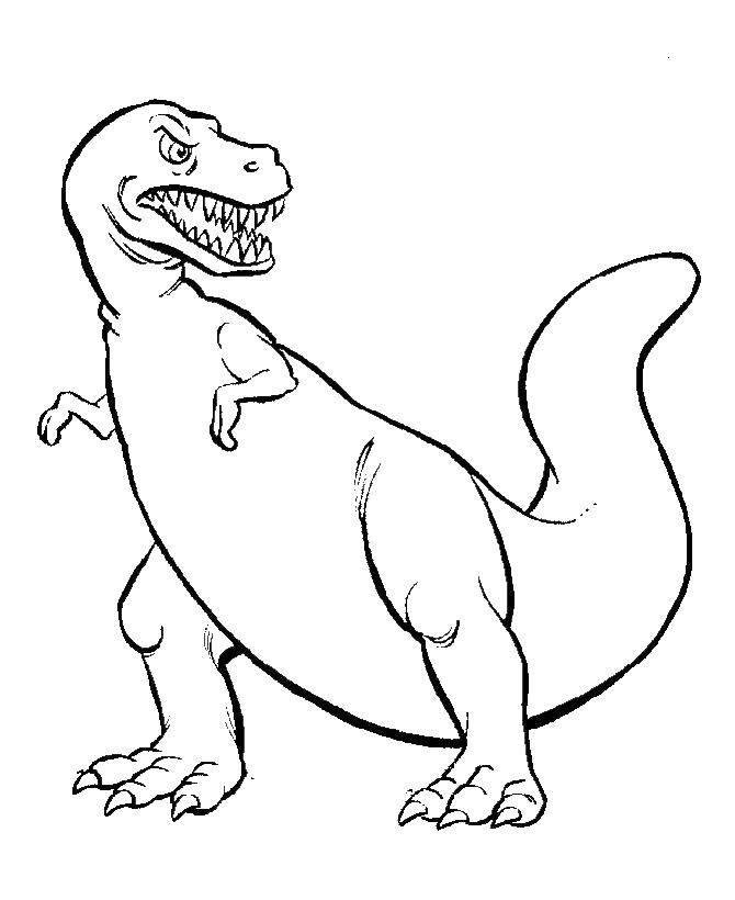 Злой тираннозаврик