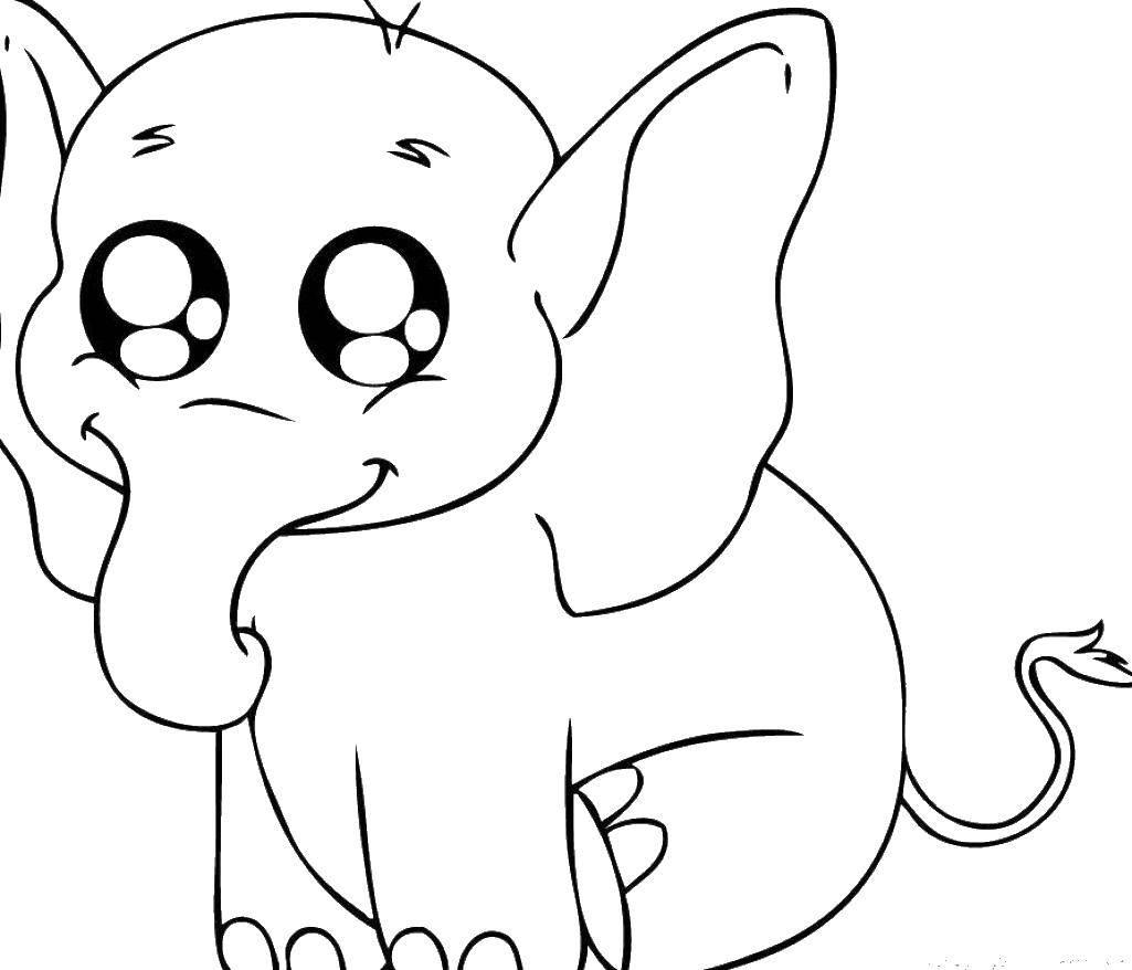 Слоник для малышей