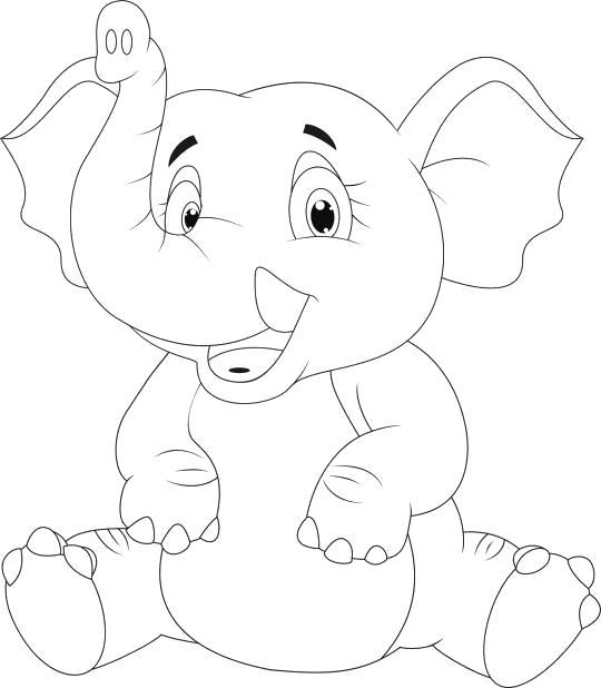 смешной слоненок